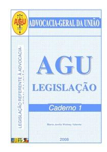 regencia da advocacia geral da uniao
