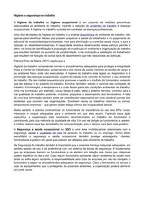 RESUMO NP2   PSICOLOGIA ORGANIZACIONAL E DO TRABALHO