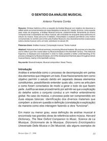 Correa Sentido Analise