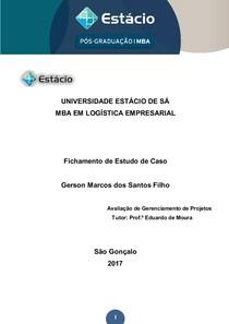 FICHAMENTO ERON GAS SERVICES