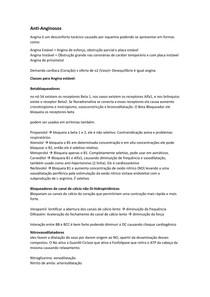 Transcrição Anti-anginosos