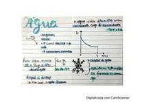 Ficha manuscrita - Química da água