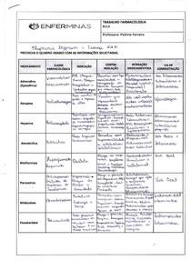 Trabalho Integrativo Farmacologia