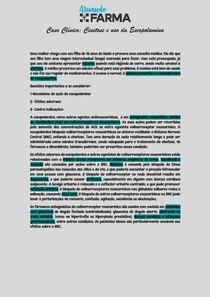 Caso Clínico Escopolamina e Tratamento da CInetose