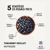 5 BENEFÍCIOS DO FEIJÃO PRETO