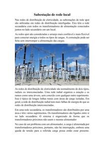 Subestação de rede local