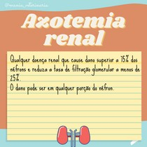 Azotemia renal