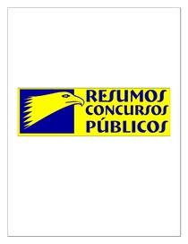 Resumo (de concurso) - Direito Processual Civil -Curso Processo Civil