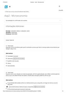Aap2 - Microeconomia
