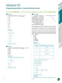 113 - Exercícios / Progressão geométrica Soma de infinitos termos