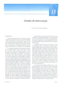 cap 13 epidemiologia medronho
