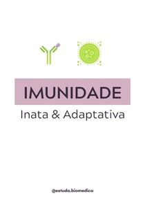 Imunidade inata e adaptativa