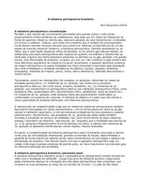 A ind-¦ústria petroqu-¦ímica brasileira