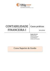 Contabilidade Financeira 1 Caderno de Fichas Resolvidos