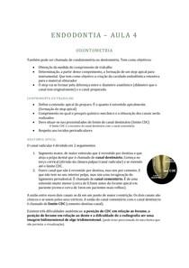 ENDODONTIA - 4 - ODONTOMETRIA