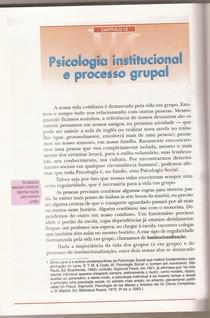 Sociedade  organizações instituições...1