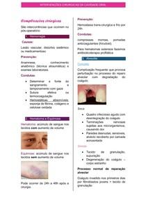 complicações cirurgicas