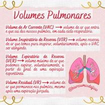Volumes Pulmonares - @biaresumosdafisio