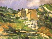 Paul Paul Cézanne- House in Provence