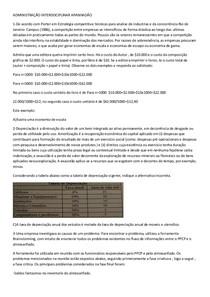 ADMINISTRAÇÃO INTERDISCIPLINAR APANHADÃO - UNIP