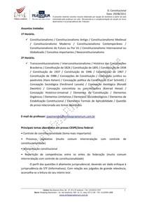 Resumo Direito Constitucional   Aula 01