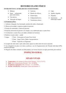 ROTEIRO EXAME FÍSICO - COMPLETO (RESUMO)