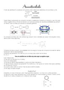 Aromaticidade - Química Orgânica