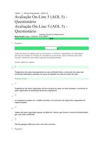 AOL 5 DIREITO EMPRESARIAL