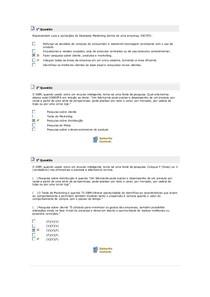 EXERCÍCIOS DATA BASE MARKETING (POR FAVOR ME AJUDE CURTINDO)