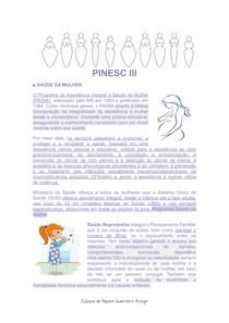 Saúde da Mulher PINESCIII
