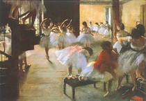 Edgar Degas - escola de danca