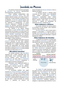 Imunidade nas Mucosas
