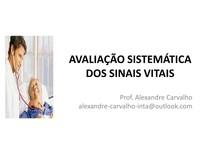 Aula 02- Avaliação Sistemática dos Sinais Vitais