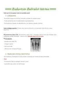 Reabsorção Radicular Interna