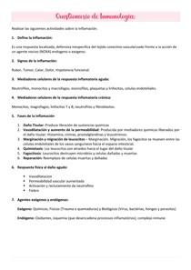 Questionario de imunologia