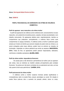 RESUMO EXPANDIDO PSICOLOGIA UFPE-PERFIL PSICOSSOCIAL DA VÍTIMA E AGRESSOR DE VIOLÊNCIA DOMÉSTICA