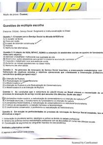 Prova de Serviço Social: surgimento e institucionalização no Brasil - exame