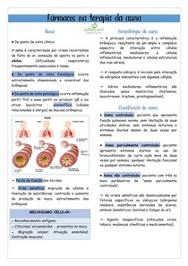 10 Fármacos na terapia da asma