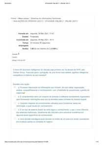 ATIVIDADE ONLINE 2 - ONLINE 2021_1