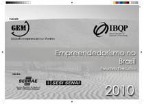 GEM 2010 - Empreendedorismo no Brasil