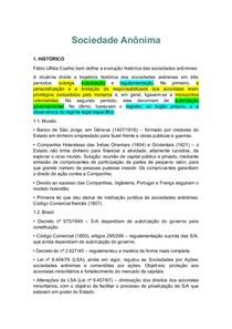 SOCIEDADE ANONIMA COMPLETO.pdf (1) - Direito Empresarial I