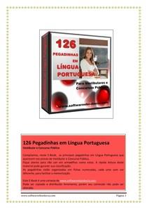 126 Pegadinhas em Língua Portuguesa