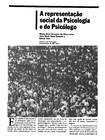 Leme, M. A. V. (1989) A Representação Social da Psicologia e do Psicólogo (GRUPO 1)