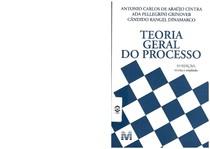 livro teoria geral do processo ada pellegrini pdf