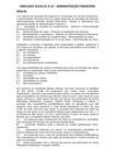 SIMULADO AULAS 01 A 10 - ADMINISTRAÇÃO FINANCEIRA