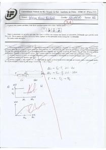 P1 Física I-C - Gamermann - 2017/2