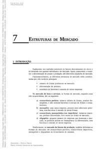 Microeconomia estrutura de mercado capitulo 7 parte 2 de 2