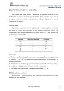 função grau 1