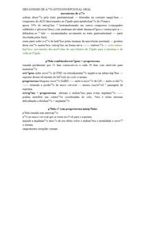MECANISMO DE AÇÃO ANTICONCEPCIONAL ORAL