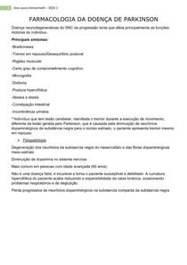FARMACOLOGIA DA DOENÇA DE PARKINSON (2)